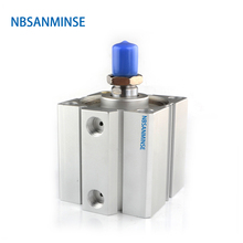 NBSANMINSE SDA With Magnet  Bore 50mm Compact Cylinder AirTAC Type Double Acting Pneumatic Parts Automation