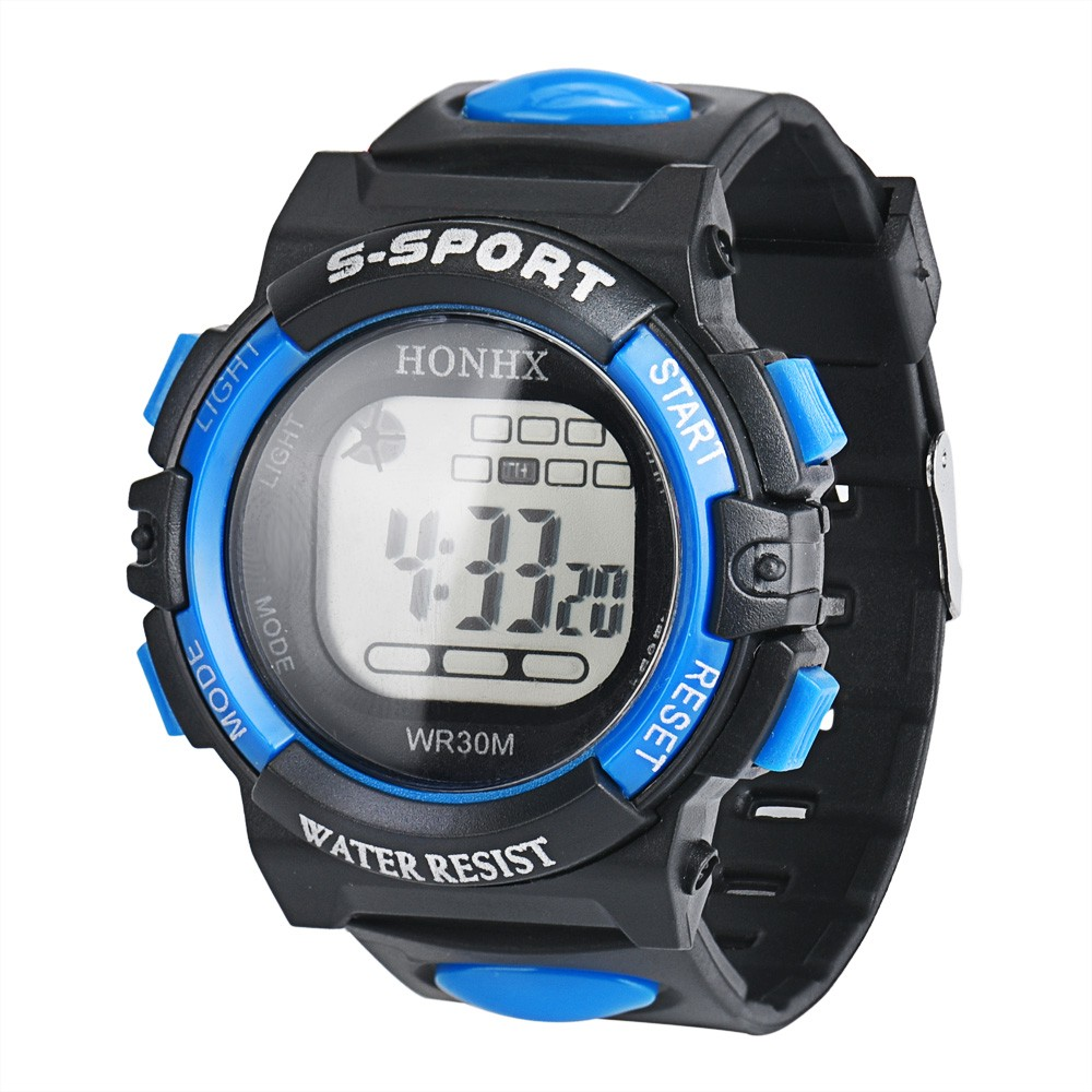 High Quality Hot sales LED Digital Electronic Multifunction Waterproof Child Kid Boy's Girl's Casual Sport Watch Relogio As Gift hot horloge new desigh hot sale colorful boys girls students time electronic digital wrist sport watch 2017may10
