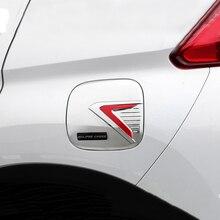 Auto Coperchio Del Serbatoio Del Carburante Per Mitsubishi Eclipse Croce 2018 2019 Car Styling ABS Decorazione Esterna Tappo del Serbatoio Del Carburante Copertura serbatoio