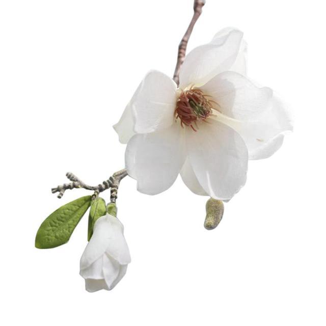 Silk Magnolia Artificial Flower