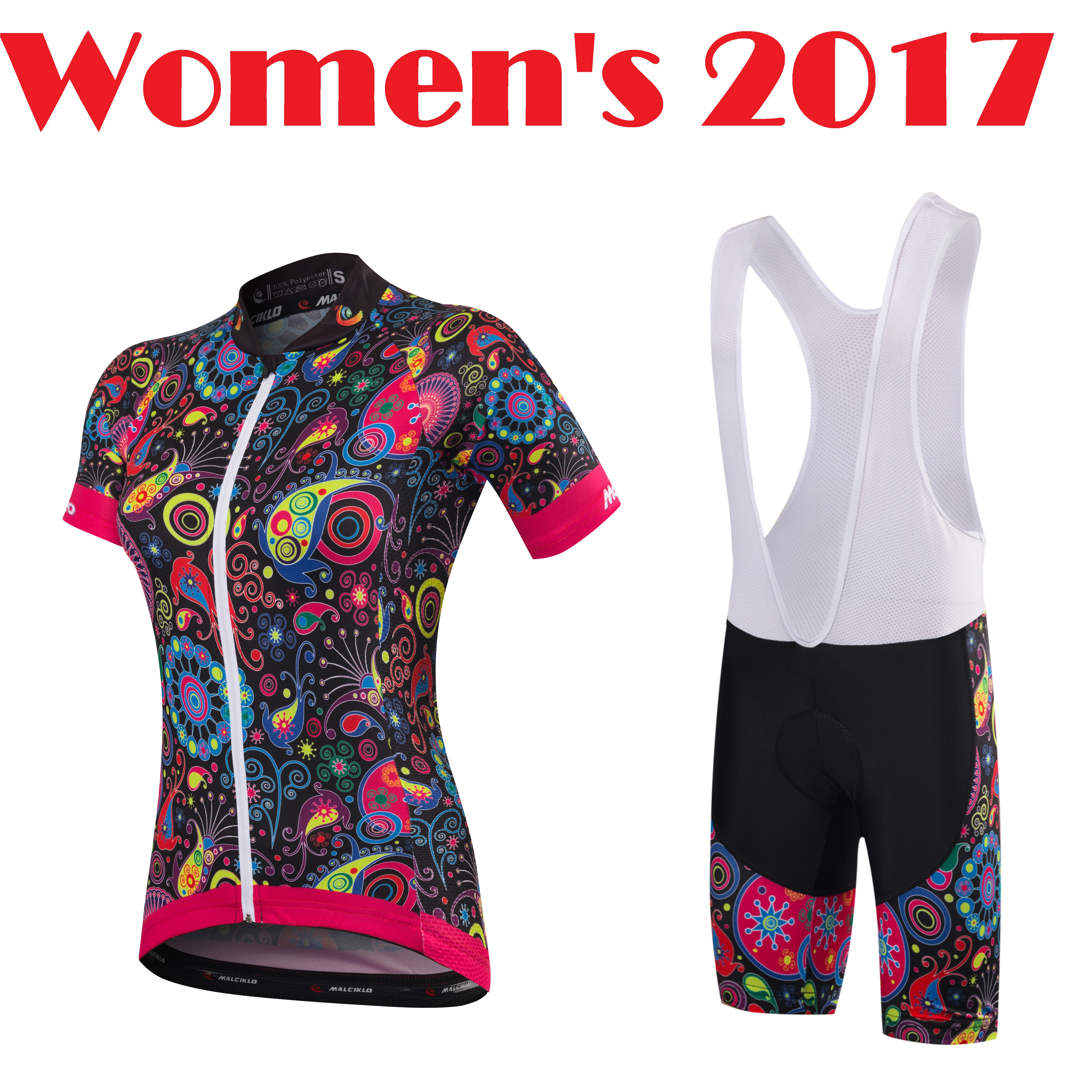 Amicable Women's Cycling Jerseys 2017 Lady Road Racing Jersey Summer Bicycle Sportswear Bike Wear Set Free Shipping Qm17dt12 With The Most Up-To-Date Equipment And Techniques