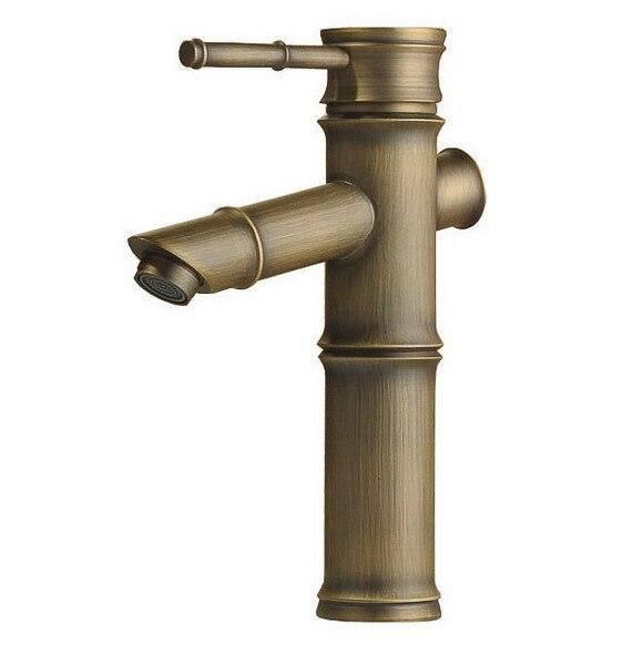 Antique Brass Single Handle Bathroom Vessel Sink Vanity Basin Faucet Mixer Tap Cnf062Antique Brass Single Handle Bathroom Vessel Sink Vanity Basin Faucet Mixer Tap Cnf062