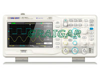 The Latest Version All New SDS1202DL 2 Channels 1 Ext Trig Siglent 200MHz Digital Storage Oscilloscope