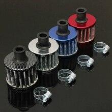 13 мм масляный Мини Воздушный фильтр для холодного воздуха топливный картер двигателя для автомобиля Цвет: случайный