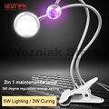 WOZNIAK 2в1 Зеленая лампа для отверждения клея настольная фиксированная жидкая УФ-лампа для клея BGA обслуживание светодиодной лампы