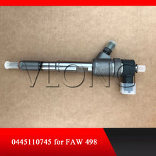 Diesel common rail fuel injector 0445110745 0445110447 044 5110 745 for FAW 498 engine стоимость