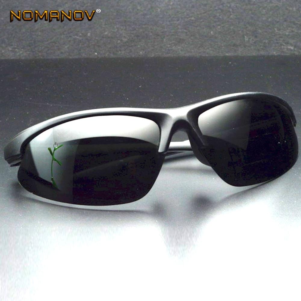 2018, роскошные спортивные черные поляризованные солнцезащитные очки без оправы, мужские поляроидный, поляризованный, для вождения, ультрале...