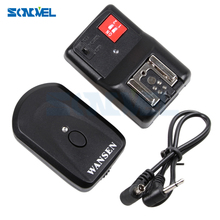 Professional 4 Channels Wireless Remote Speedlite Universal Flash Trigger for Canon Nikon Pentax Olympus PT 04GY free shipping