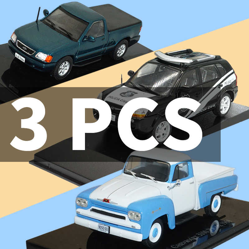Car Toys With Metal car Model 1/43  metal Diecasts Toy Vehicles Christmas Gifts for CHEVROLET S-10/HYUNDAI TUCSON-POLICIA