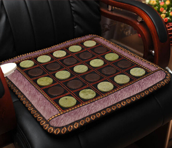 Health care heating jade massager cushion NEW heating seat cushion jade cushion electric heated 45*45CM