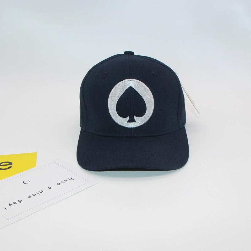 Summer Fashion Embroidery cartton poker Cap Adjustable Hip Hop Snapback  Baseball Caps Men Women Fitted Trucker Hat