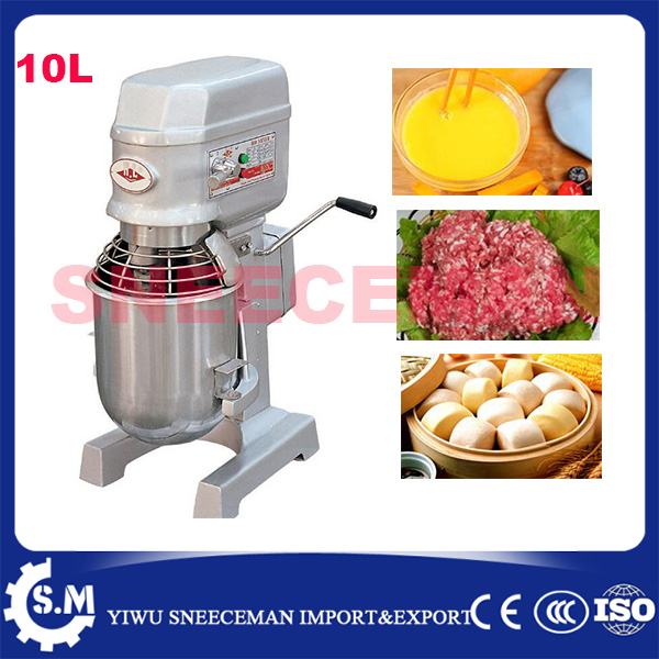 10L commercial dough mixer machine stainless steel spiral dough mixer bread pizza dough mixer with 1kg flour free shipping multifunctional dough blender commercial flour dough mixer home wheat flour mixer machine mixer machine