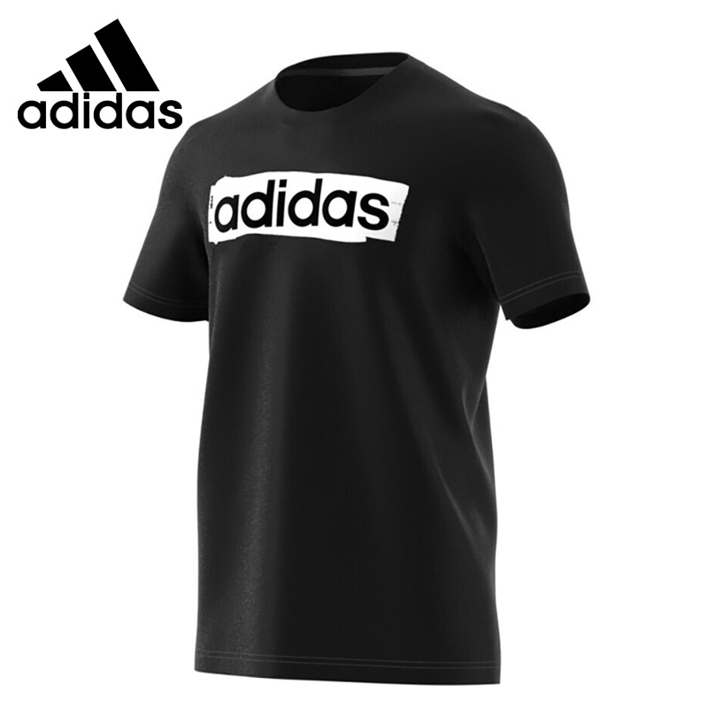 Original New Arrival  Adidas E LIN BRUSH T Mens T-shirts short sleeve SportswearOriginal New Arrival  Adidas E LIN BRUSH T Mens T-shirts short sleeve Sportswear