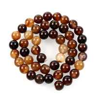 Naturstein Perlen Multi Farbe Achate Runde Lose Spacer Perlen Für Schmuck Machen Halskette Armband Kalen Perles 15 4 -12mm
