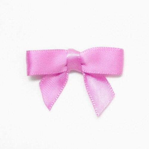 Free Shipping 500pcs lot Satin Ribbon Mini Bow Combo Satin Ribbon Mini Bow