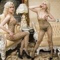 Красота сексуальная леопарда ах промежность комбинезоны сексуальная женщина тело колготки чулки соединены специи мешок тела