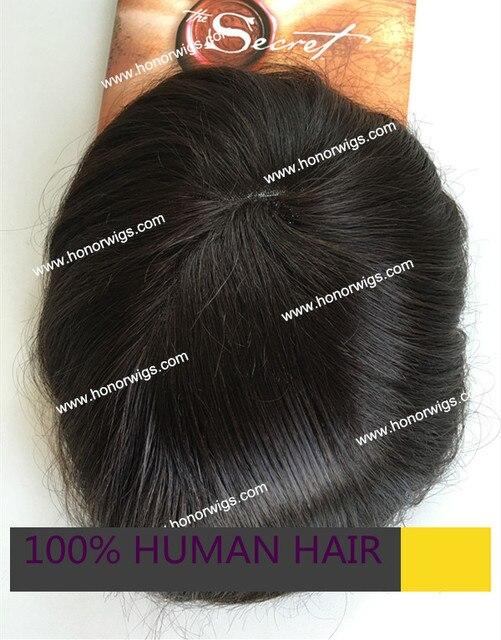На складе мужская парик 6 дюймов длина волос 110% плотность волос тонкая кожа вокруг на складе HT333 натуральный черный цвет натуральный прямо