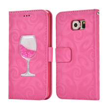 coque verre de vin galaxy s6 edge
