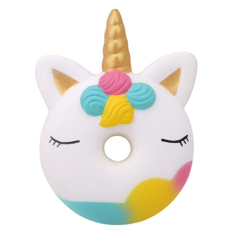 Jumbo Kawaii Squishy Cartoon Unicorn Squishes Ice Cream Big PU Squishy Slow Rising Scented Squeeze Toys Antistress