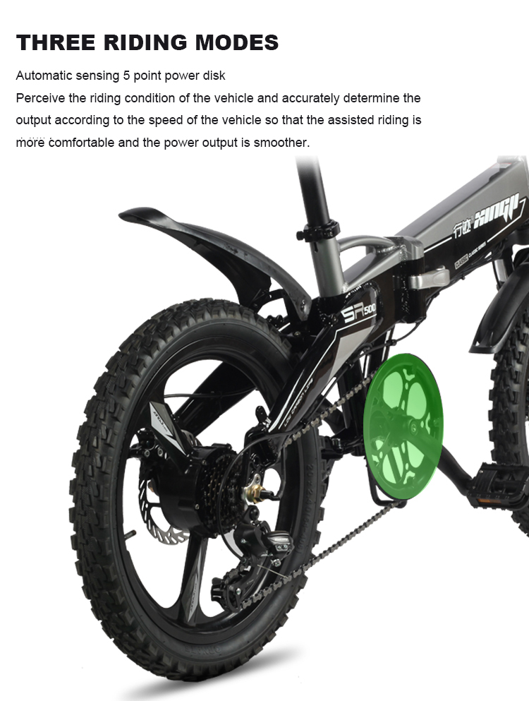 HTB1dWrkX5zxK1Rjy1zkq6yHrVXay - Daibot Transportable Electrical Bike Two Wheels Electrical Scooters 20 inch Brushless Motor 250W Folding Electrical Bicycle 48V For Adults