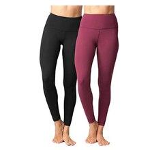 Лулу Йога Брюки для женщин девушка спортивные Damen Длина Высокая талия спортивные Jogger брюки для йоги женские лосины для бега lulu леггинсы