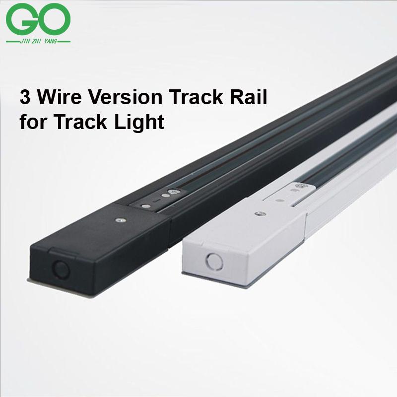 Buy Track Light Fixture: Aliexpress.com : Buy 1m LED Track Light Rail 3 Wire