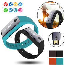 Coronary heart Charge Detection Sensible Bracelet Pedometer Wristband Bluetooth Watch Exercise Health Tracker Style Sport Cute Wholesale