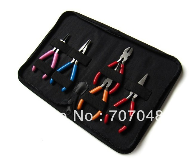 Mini5 sets of pliers suit combination of handmade materials and tools