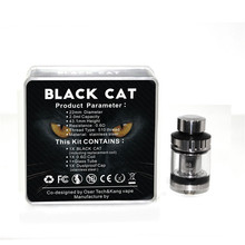Original Electronic Cigarettes Atomizer Black Cat Tank Vape 22mm Diameter 2ml Atomayzer Vaporizer