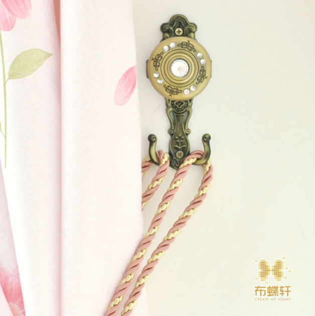 Curtains Ideas curtain hanger hooks : Aliexpress.com : Buy curtain Hanger Vintage crystal wall Tieback ...