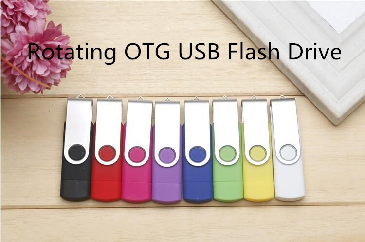 OTG Usb Flash Drive 256g For Smartphone Tablet PC Mobile Storage 64GB 32GB 16GB 128GB Pen Drive Otg Usb Pendrive Micro Usb Stick