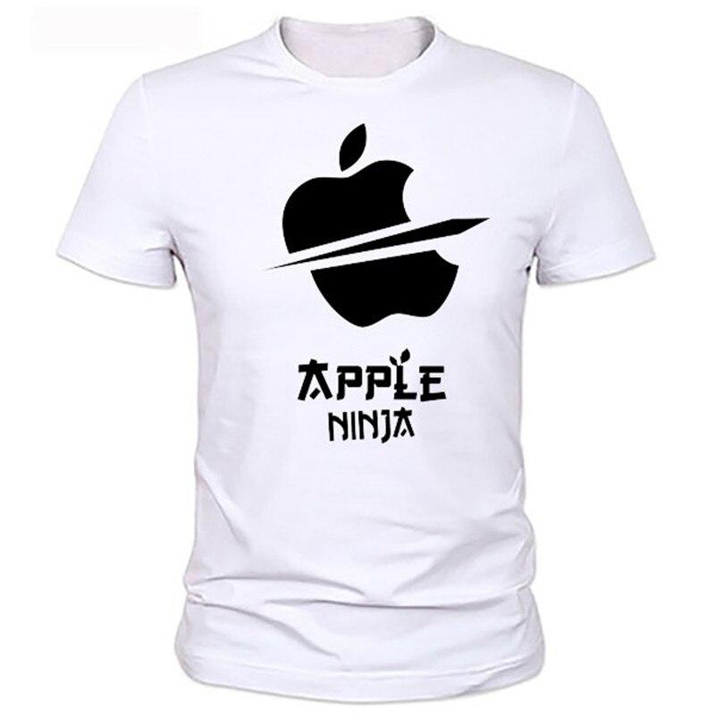 An arrow through a heart personality  Apple cartoon Printed Men's T-Shirt T Shirt For Men New Short Sleeve O Neck Casual Top Tee