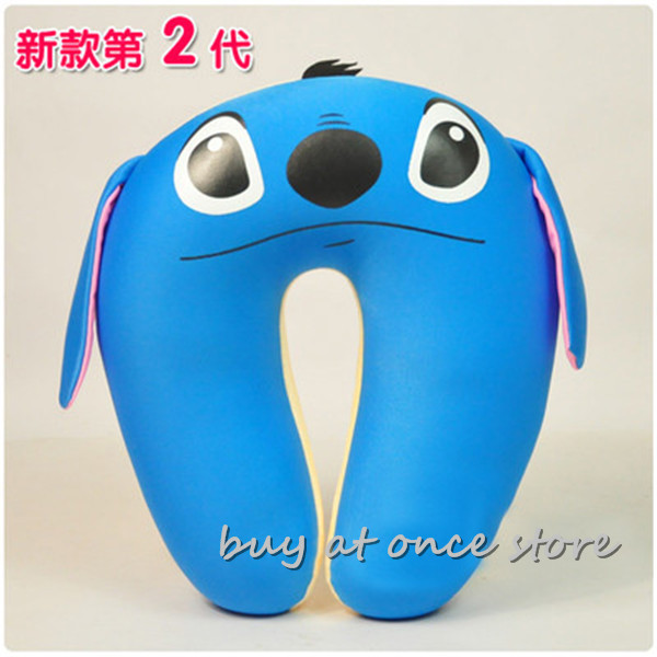 Novelty U Shape Cute Animal Cotton Neck Pillow Comfortable