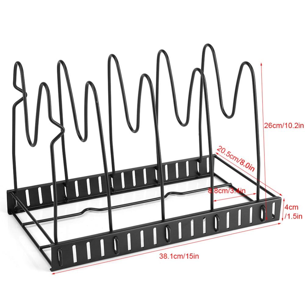 Kitchen Accessories Multi Tiers Pot Frying Pan Lid Storage Rack Article Panpot Guitar Rewiring Gb Jya03716 14
