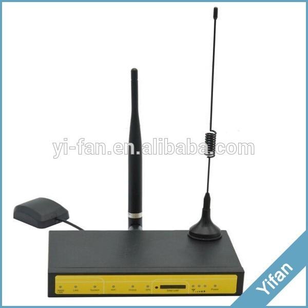 Routeur WIFI de GPS de soutien de VPN F7826 LTE 4G pour le véhicule de voiture d'autobus