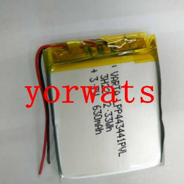 New Hot A Rechargeable Li-ion Cell  3.7V polymer lithium battery 443441 direct selling large capacity MP5 navigator e-book digit