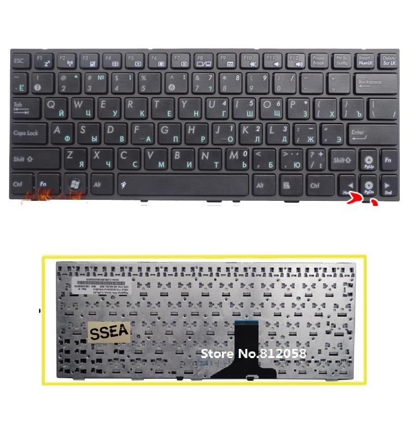 цена SSEA New laptop RU Keyboard for ASUS Eee PC 1001HA 1001PX 1001PXD 1005 1005HD 1005HA 1005PX 1008 1008HA Russian Keyboard
