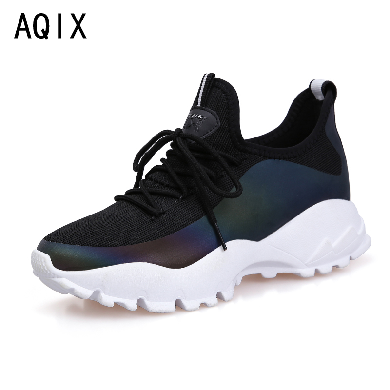 2018 Women casual shoes New Arrivals fashion Fast delivery Breathable Female shoes women sneakers tenis feminino Black color