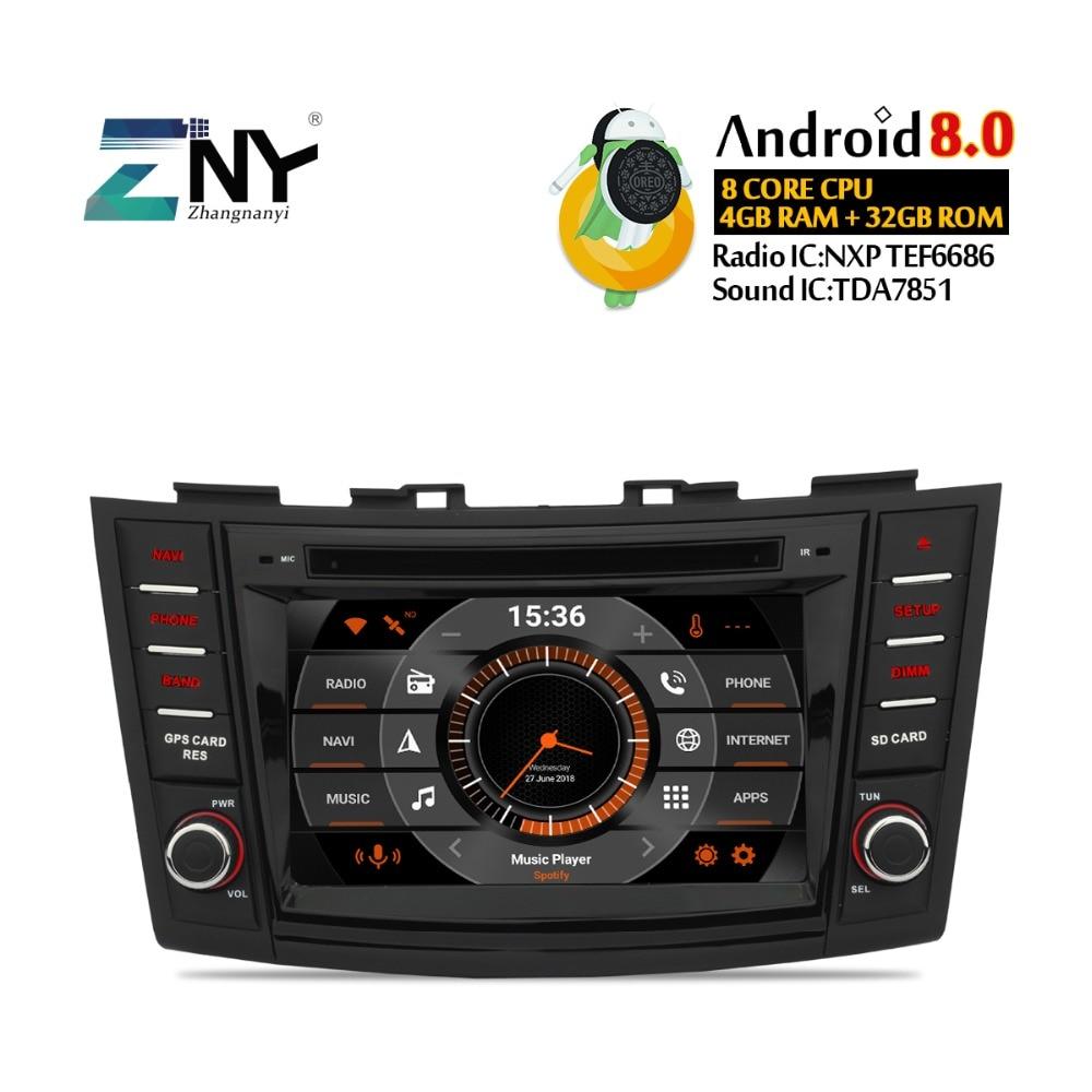 7 HD Android dvd de voiture Pour Suzuki Swift 2011 2012 2013 2014 2015 auto-radio FM RDS Stéréo Audio Vidéo navigation gps sauvegarde Cam