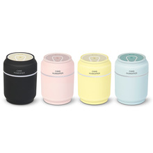 Creative cans humidifier three-in-one with a silent mini usb humidifier