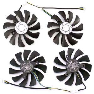 Image 2 - جديد 85 مللي متر HA9010H12F Z 4Pin برودة مروحة استبدال ل MSI GTX 1060 OC 6G GTX 960 P106 100 P106 GTX1060 بطاقة جرافيكس مروحة