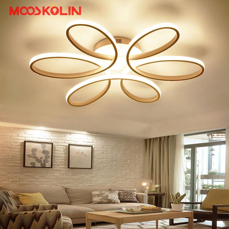 Nouveau Moderne LED Lustres De Salon Salle À Manger Chambre Luminaires Lustre Maison de Lampe De Plafond LED éclairage luminarias