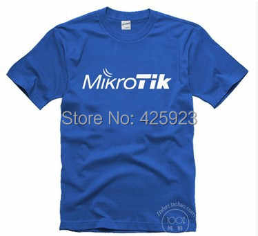 それプログラマtシャツはmikrotikルータワイヤレスispシステム男性半袖100%コットン夏tシャツ