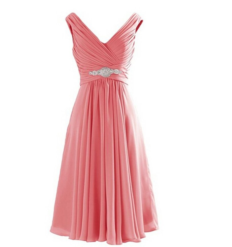 Popular Coral Dresses Buy Cheap Coral Dresses Lots From