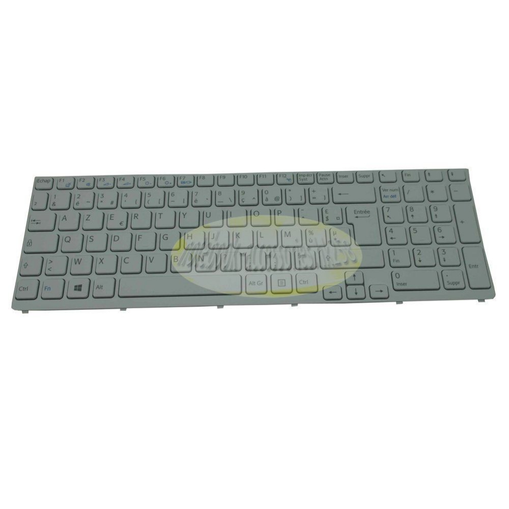 New notebook Laptop keyboard for sony Vaio SVE151D11M FR / french  layout russian ru keyboard for sony vaio sve15 sve 15 sve 15 white keyboard with frame