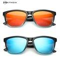 EZREAL TR90 óculos de sol para homens UV400 Polaroid Lente Polarizada HD Espelho masculino óculos Mulheres óculos de sol de marca designer de lazer
