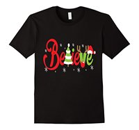 Funny Believe Santa Christmas T Shirt High Quality For Man Better T Shirts Men Summer Casual