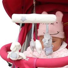 Lovely Plush Animals Infant Toys Baby Crib Revolves Baby Rattles Mobile Crib font b Stroller b