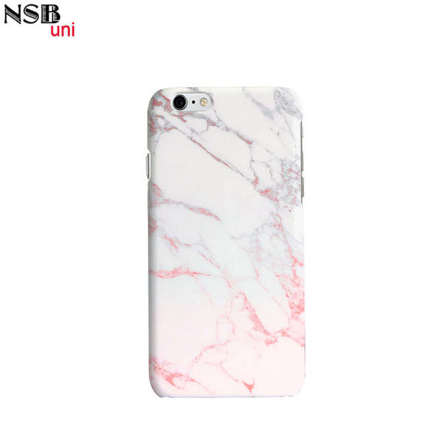 c4e12fe291 Brand NSBuni 3D Sublimation Unique Protective Cases for iPhone 6/6S with  Half Marble Designs Free Shipping