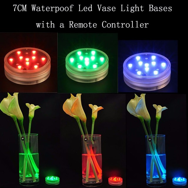4pcslot Free Shipping Submersible Led Light Up Stand Base Display